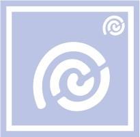 ボディペイント用抜き型シール(ステンシル)/「うずまき」10枚入