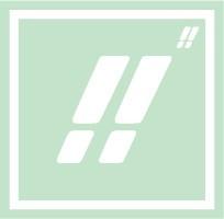ボディペイント用抜き型シール(ステンシル)/「ビックリ」10枚入