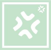 ボディペイント用抜き型シール(ステンシル)/「ムカムカ」10枚入