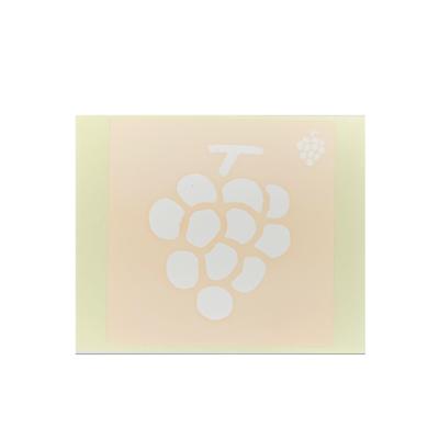 ボディペイント用抜き型シール(ステンシル)/「ぶどう」10枚入