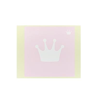 ボディペイント用抜き型シール(ステンシル)/「王冠」10枚入
