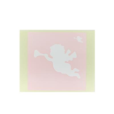 ボディペイント用抜き型シール(ステンシル)/「天使」10枚入
