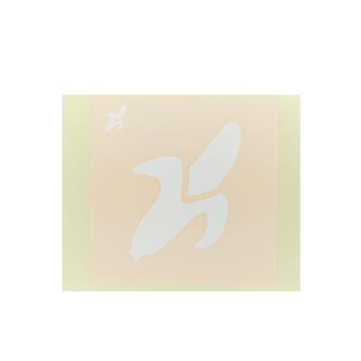 ボディペイント用抜き型シール(ステンシル)/「バナナ」10枚入