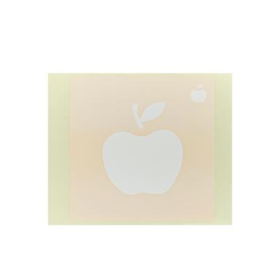 ボディペイント用抜き型シール(ステンシル)/「りんご」10枚入