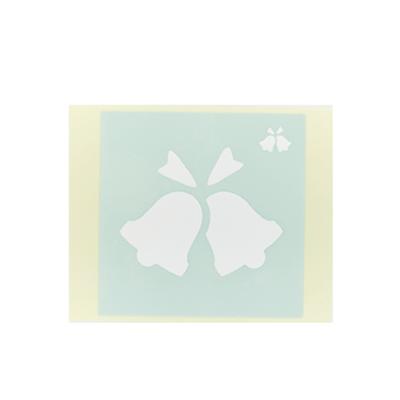 ボディペイント用抜き型シール(ステンシル)/「ベル」10枚入