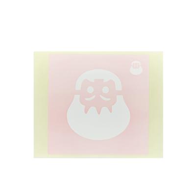 ボディペイント用抜き型シール(ステンシル)/「だるま」10枚入