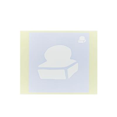 ボディペイント用抜き型シール(ステンシル)/「おもち」10枚入