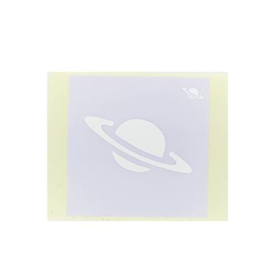 ボディペイント用抜き型シール(ステンシル)/「土星」10枚入
